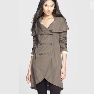 Mackage Malka Trench Coat Double Breasted XS
